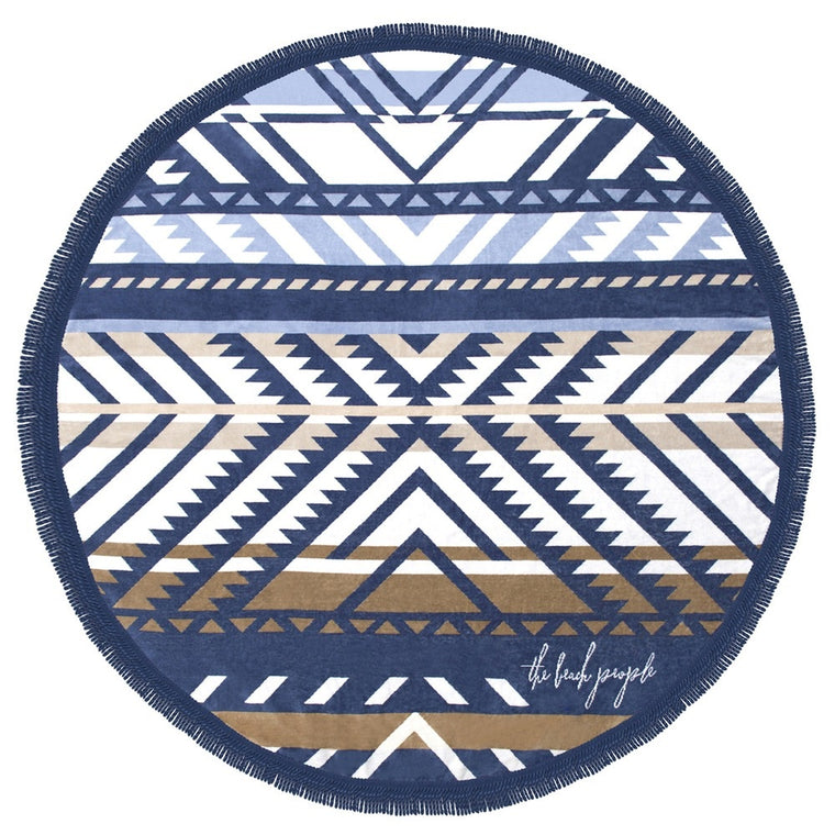 The Beach People Round Towel - Lorne