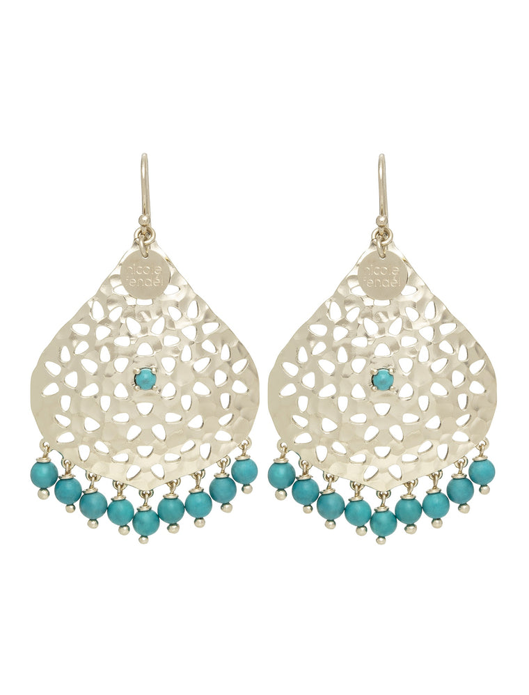 Nicole Fendel Lillian Beaded Earrings