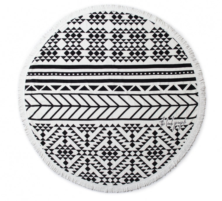The Beach People Round Towel- The Aztec