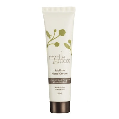 Myrtle and Moss Mini Sublime Hand Cream 30mL