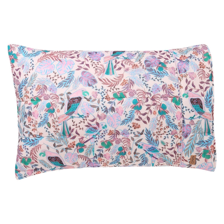 Kip & Co Little Paradiso Musk Quilted Pillowcase  2P