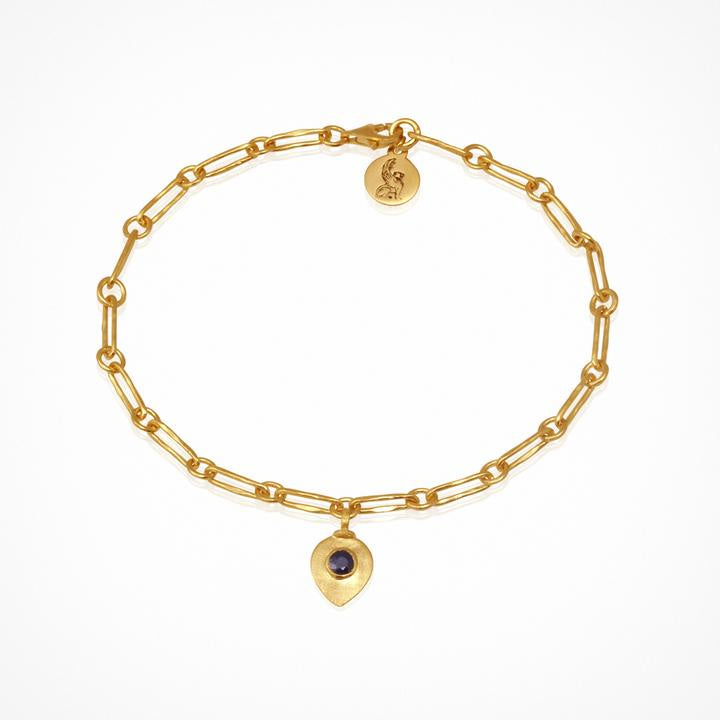 Temple of the Sun Myra Bracelet Gold - The Artisan Storeroom