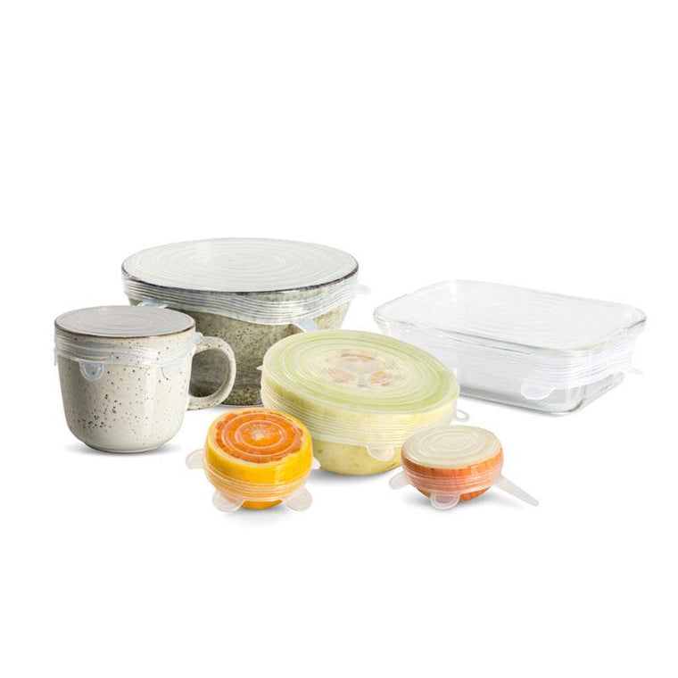 Reusable Stretch Lids Set