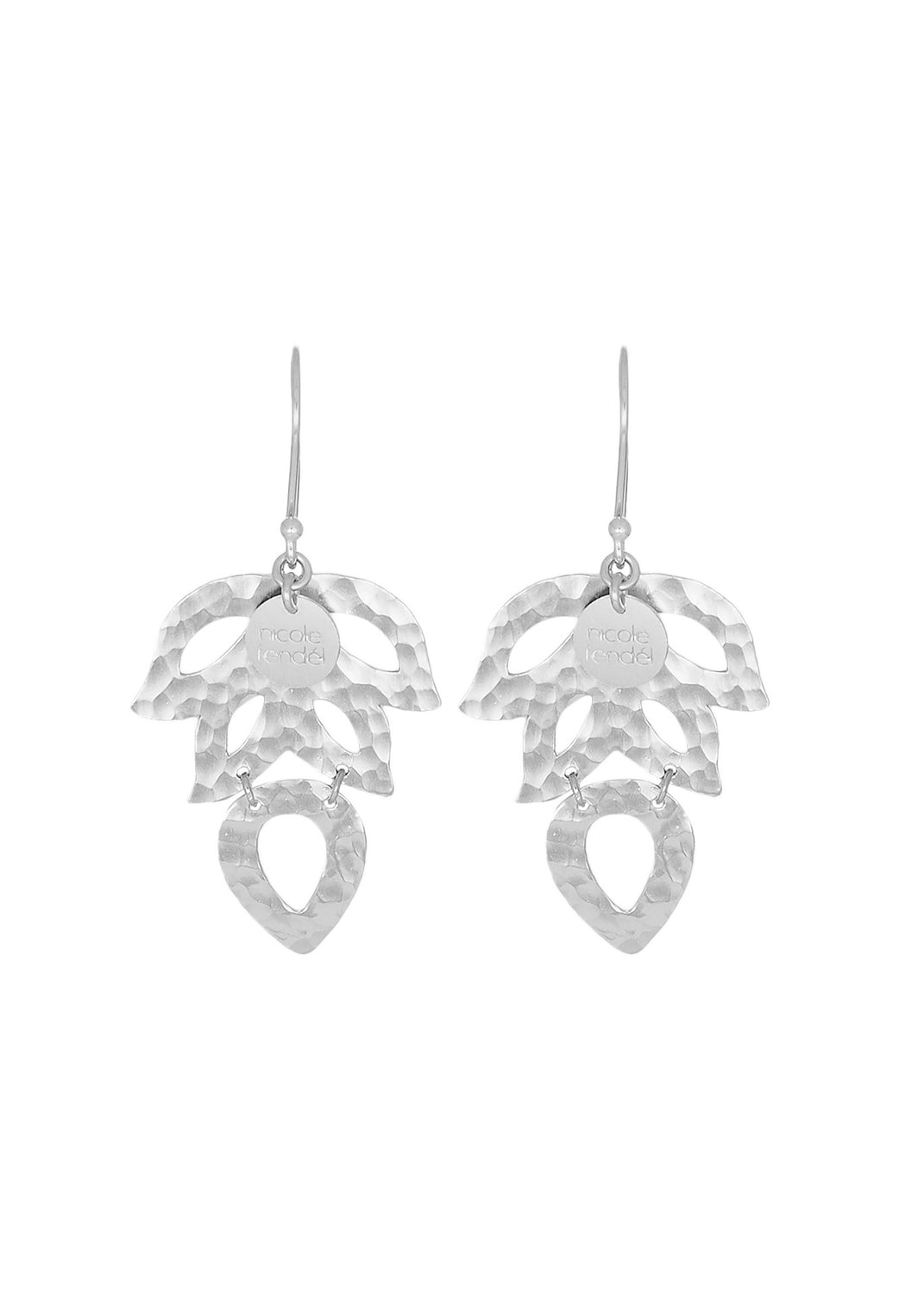 Nicole Fendel Leona Leaf Drop Earring