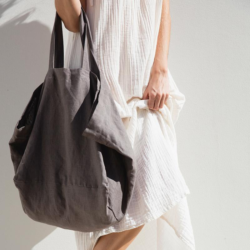 The Beach People Linen Tote