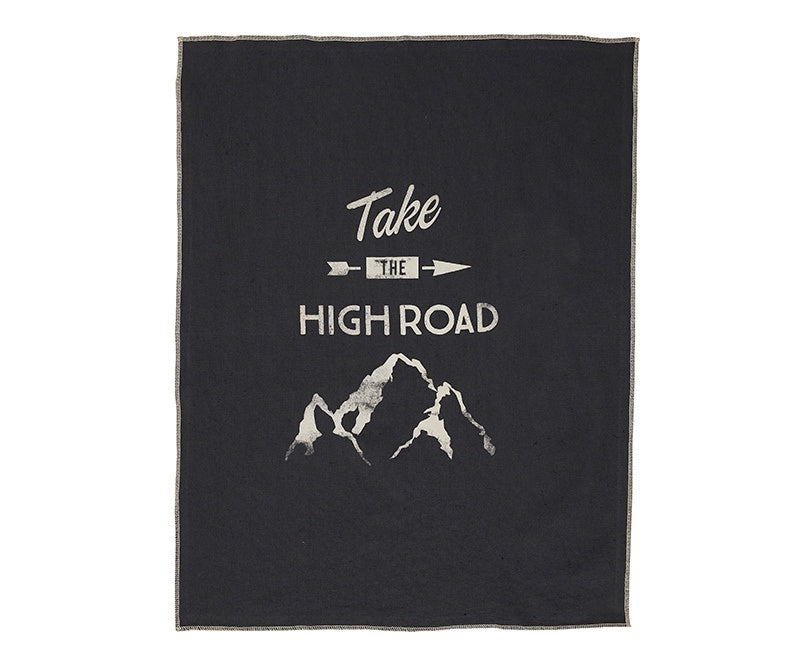 Pony Rider High Road Tea Towel