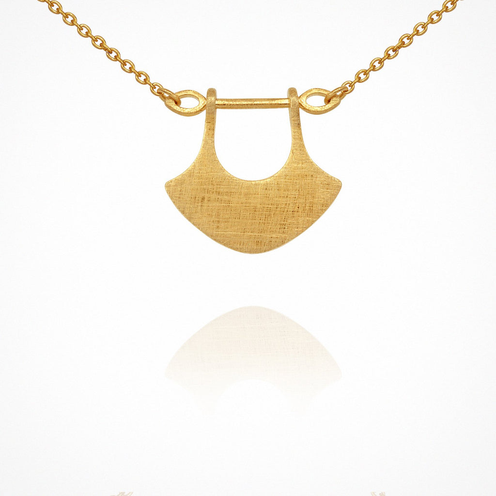 Temple of the Sun Alexis Necklace Gold - The Artisan Storeroom