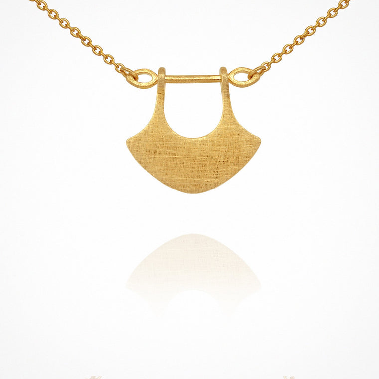 Temple of the Sun Alexis Necklace Gold