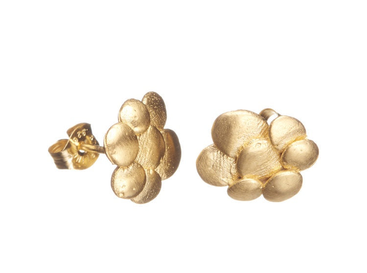 Shabana Jacobson Pebble Stud Earrings / 342