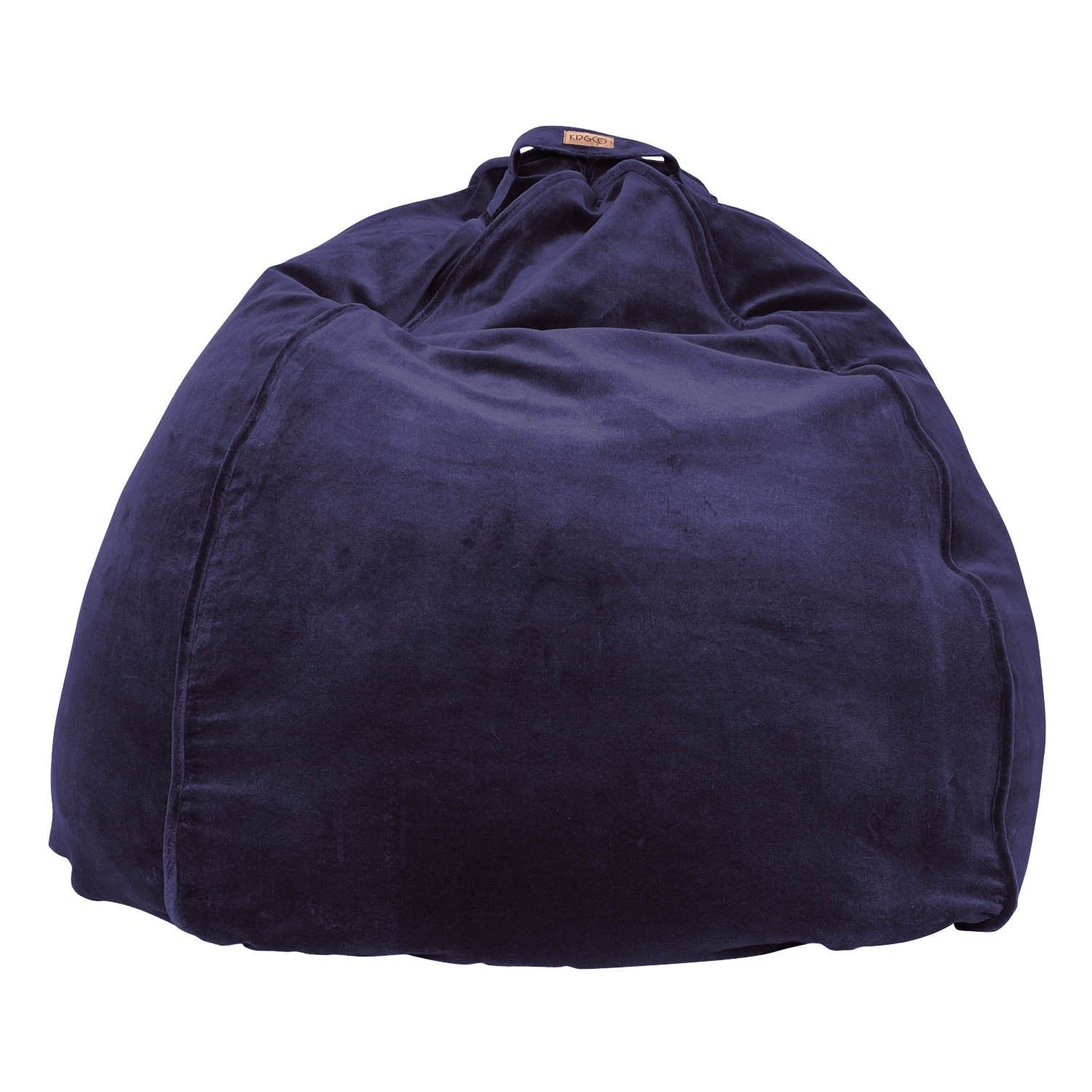 Kip & Co Navy Velvet Beanbag - The Artisan Storeroom
