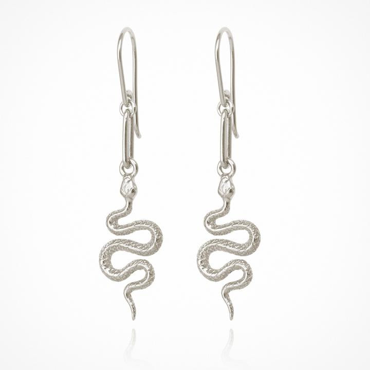 Temple of the Sun Camila Earrings Silver