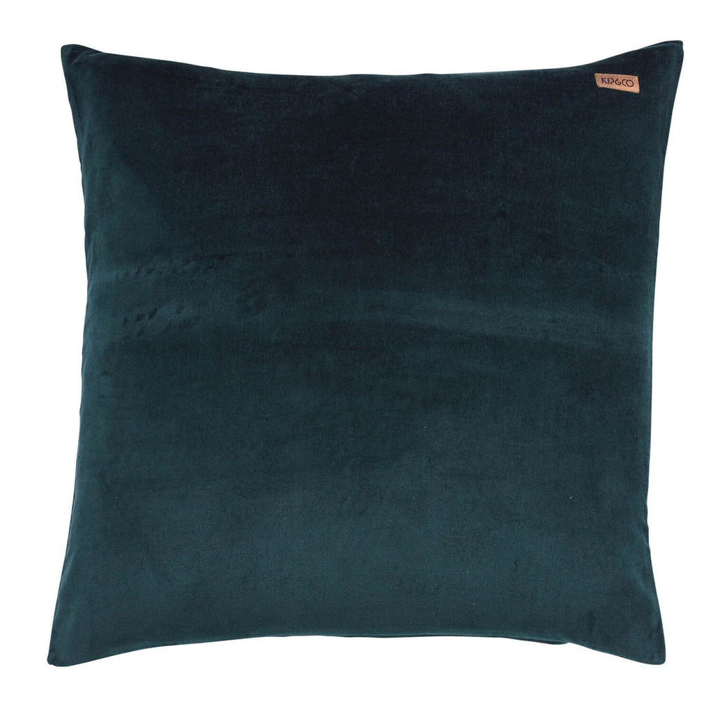 Kip & Co Alpine Green Velvet Euro - The Artisan Storeroom