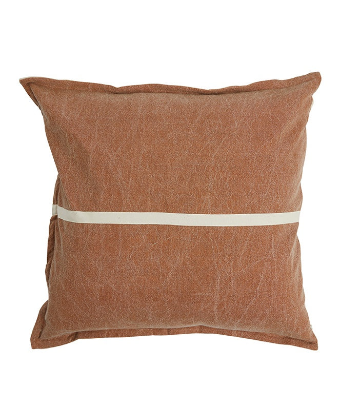 Pony Rider Wanderful Cushion Tan/Natural 60x60cm- COVER ONLY