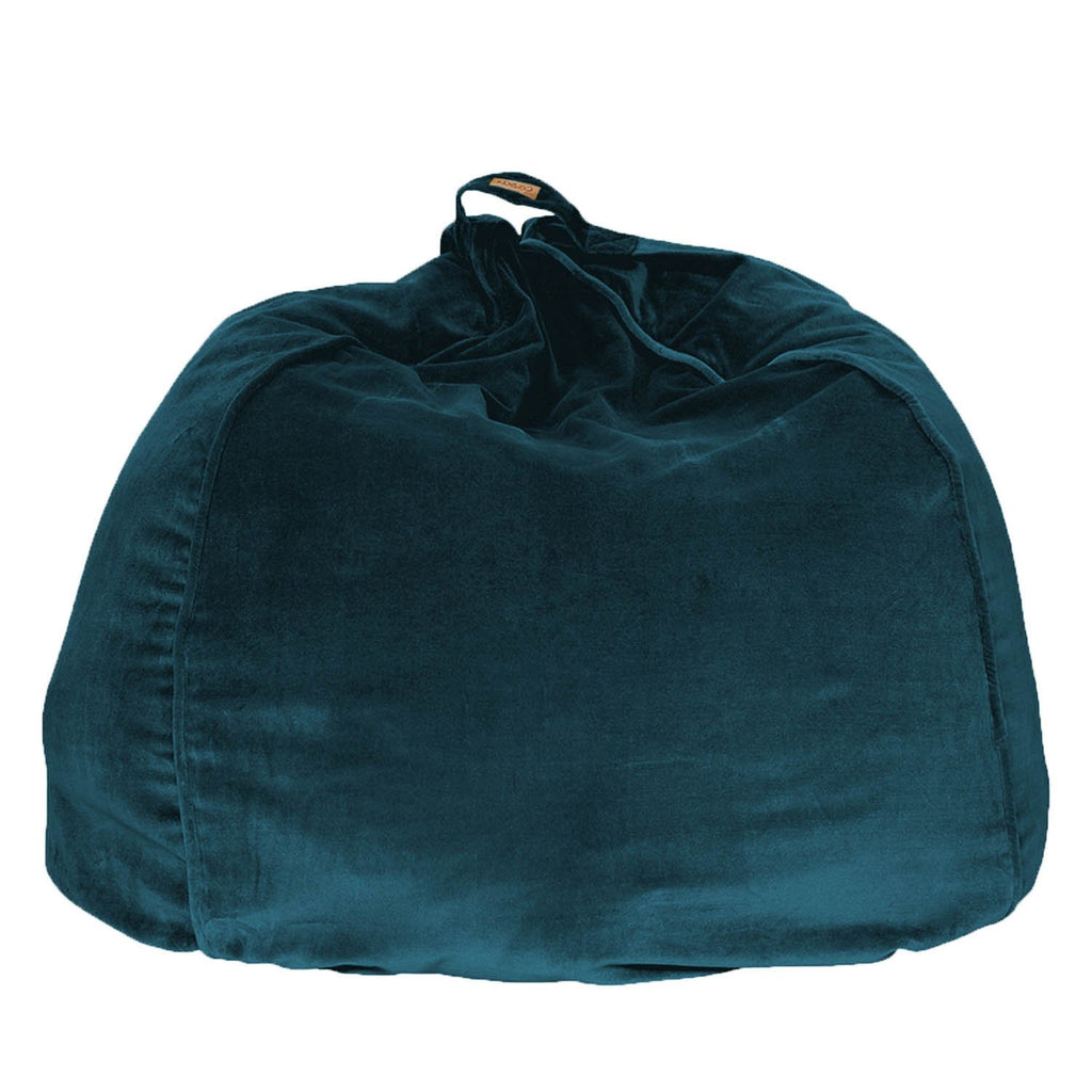 Kip & Co Green Sea Velvet Beanbag - The Artisan Storeroom