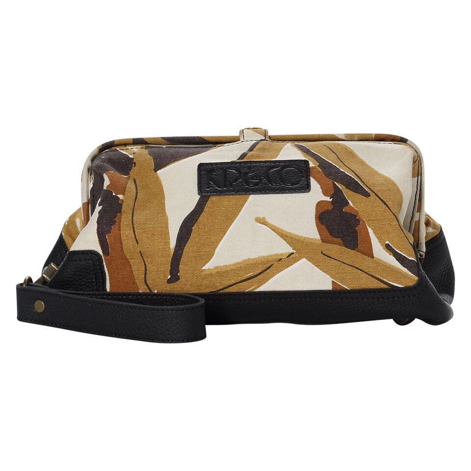 Kip & Co Bamboo Forest Toiletry Bag - The Artisan Storeroom