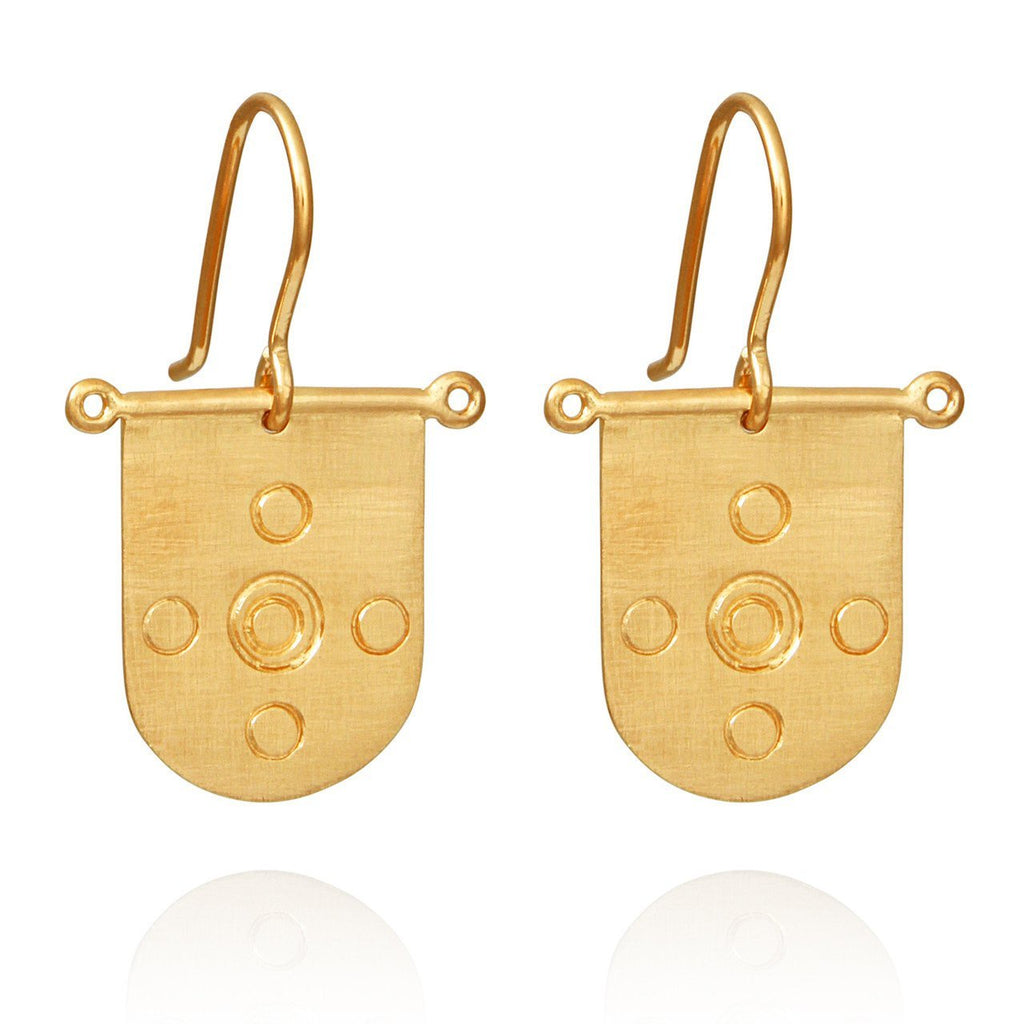Temple of the Sun Hellenic Earring