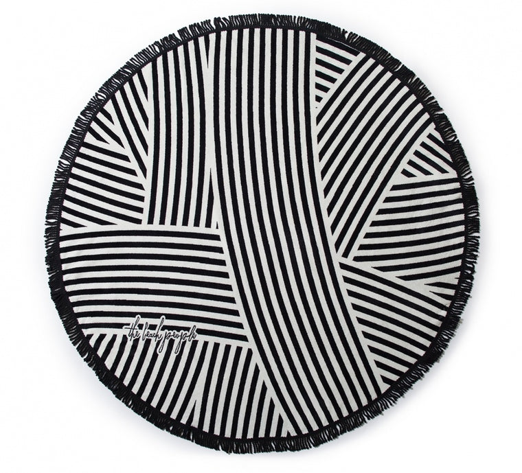 The Beach People Round Towel- The Paloma