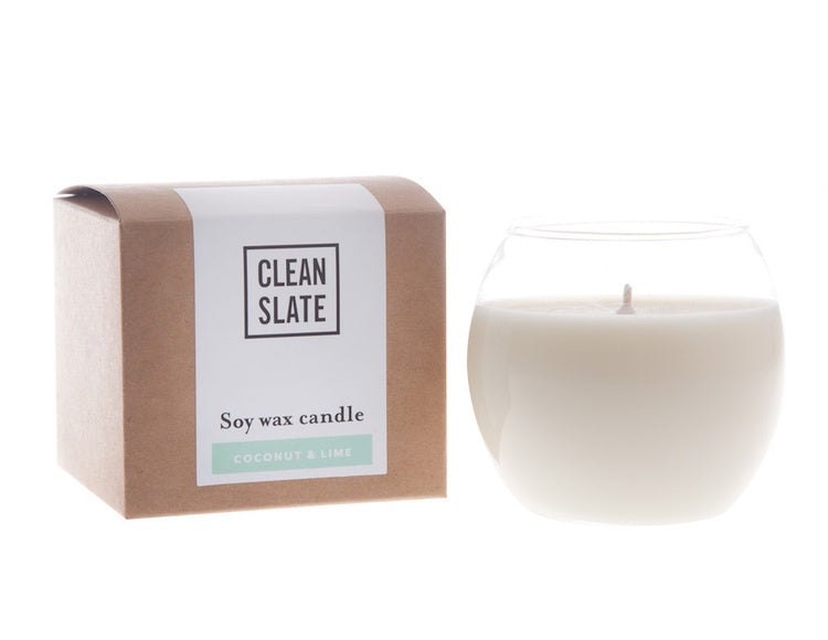 Clean Slate Bulb Candle - The Artisan Storeroom