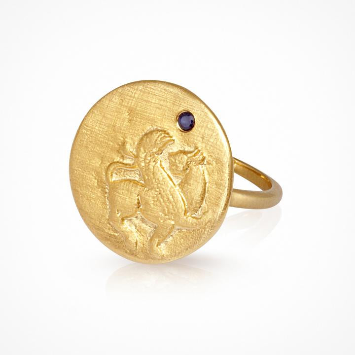 Temple of the Sun Arielle Ring Gold - The Artisan Storeroom