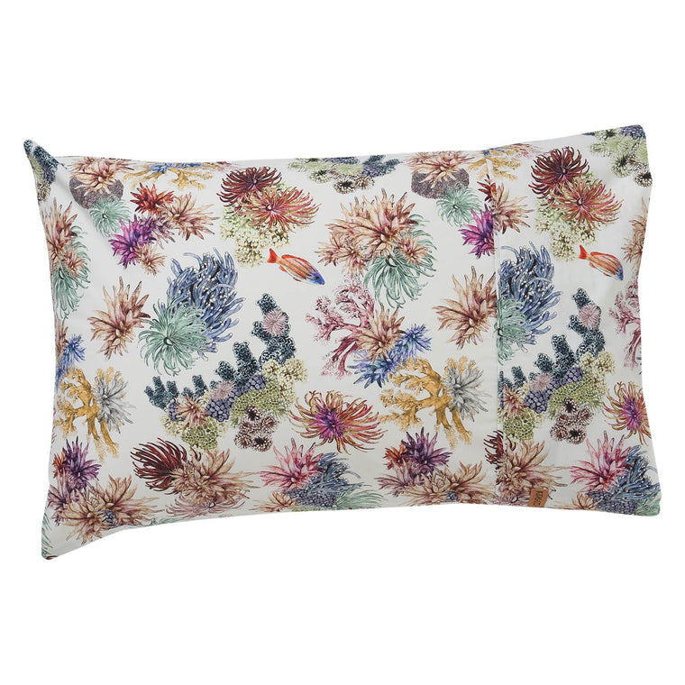 Kip & Co Great Barrier Reef Cotton 2P Pillowcase Set