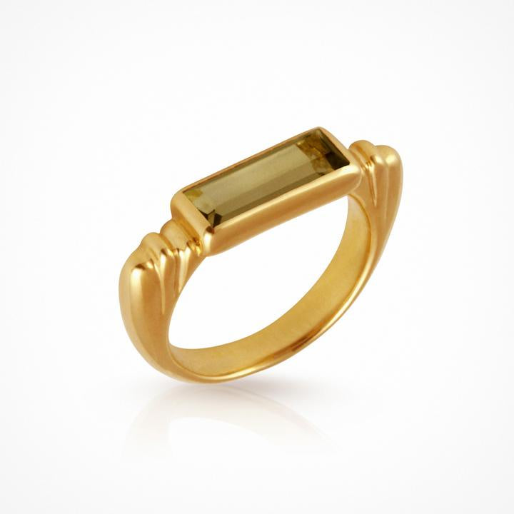 Temple of the Sun Phoebe Ring Gold