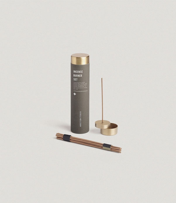 Addition Studio Incense Burner Set - The Artisan Storeroom