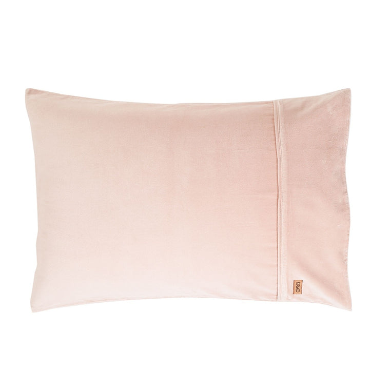 Kip & Co Peach Skin Velvet Pillowcase 2P Set