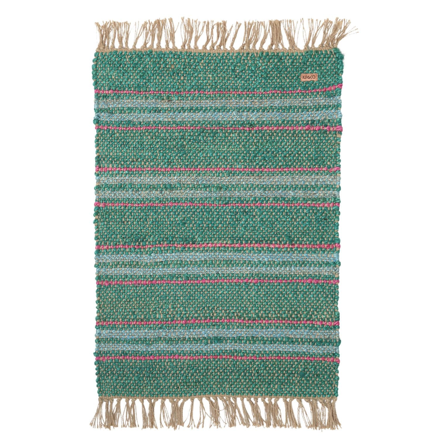 Kip & Co Tracks Jute Floor Mat - The Artisan Storeroom