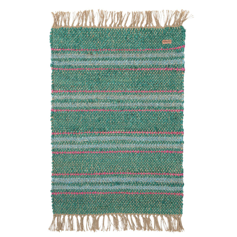 Kip & Co Tracks Jute Floor Mat