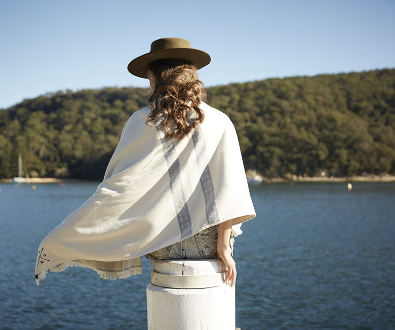 Pony Rider Skipper Stripe Towel - The Artisan Storeroom