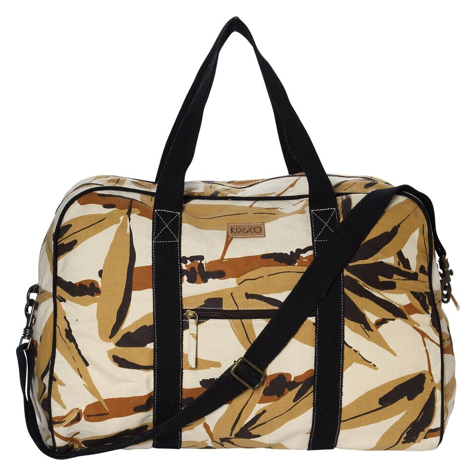 Kip & Co Bamboo Forest Duffle Bag - The Artisan Storeroom
