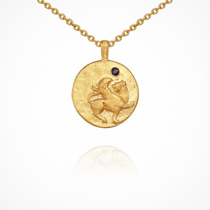 Temple of the Sun Arielle Necklace Gold
