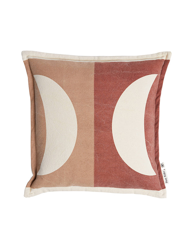 Pony Rider Moonrise Cushion Plum Desert/Donkey 45cm x 45cm - The Artisan Storeroom