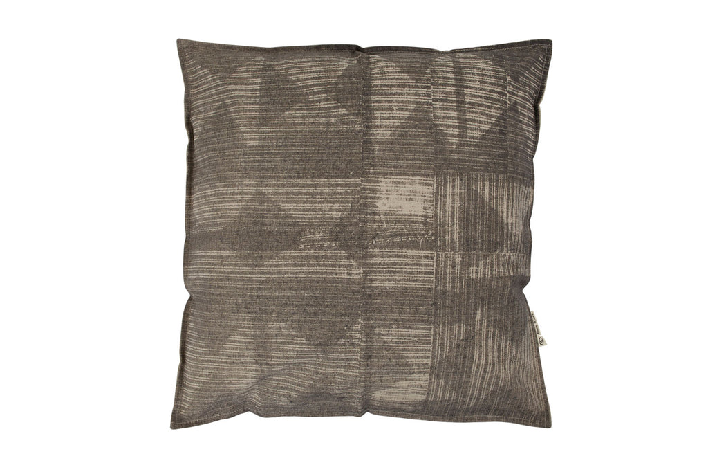 Pony Rider Patched Cushion - The Artisan Storeroom