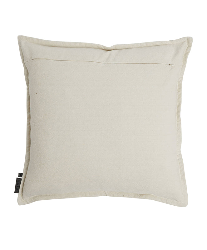 My World Cushion Cover Oats 55x55cm - The Artisan Storeroom