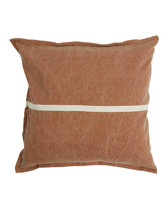 Pony Rider Wanderful Cushion Tan/Natural 60x60cm - The Artisan Storeroom