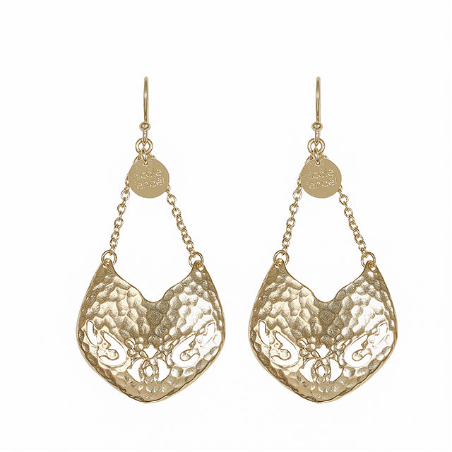 Nicole Fendel Colette Drop Earrings - The Artisan Storeroom