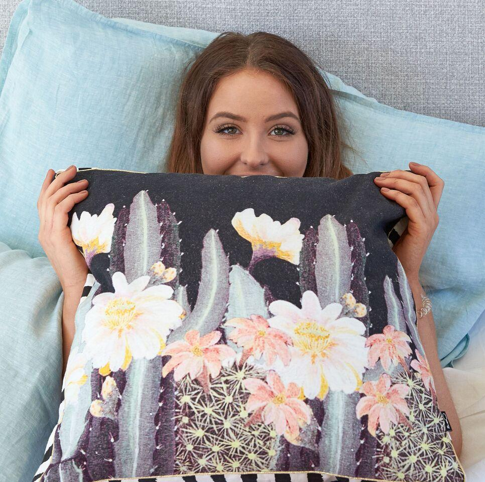 Ourlieu Night Garden Cushion - The Artisan Storeroom