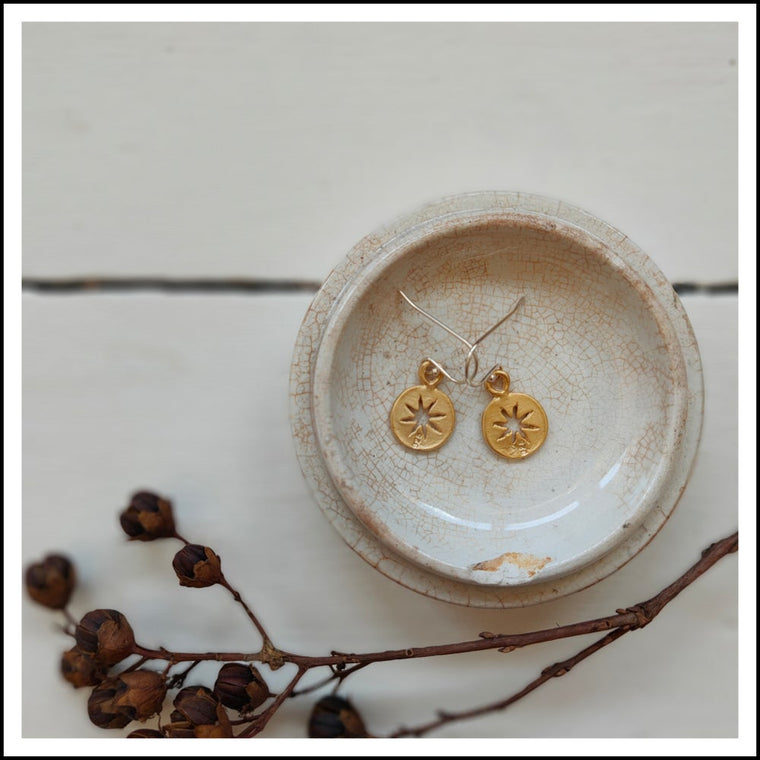 Paird Star Gazers Earrings - The Artisan Storeroom