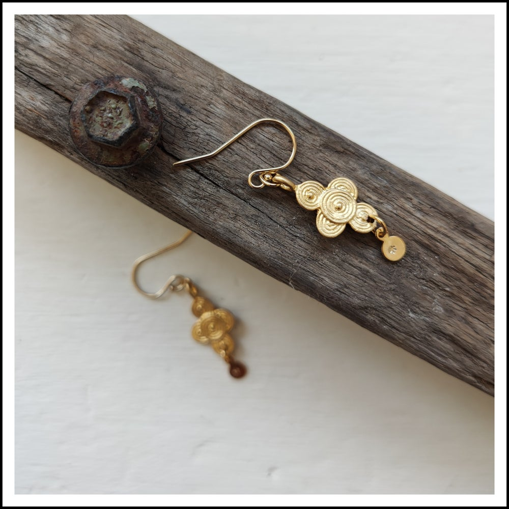 Paird Sacred Temple Earrings - The Artisan Storeroom