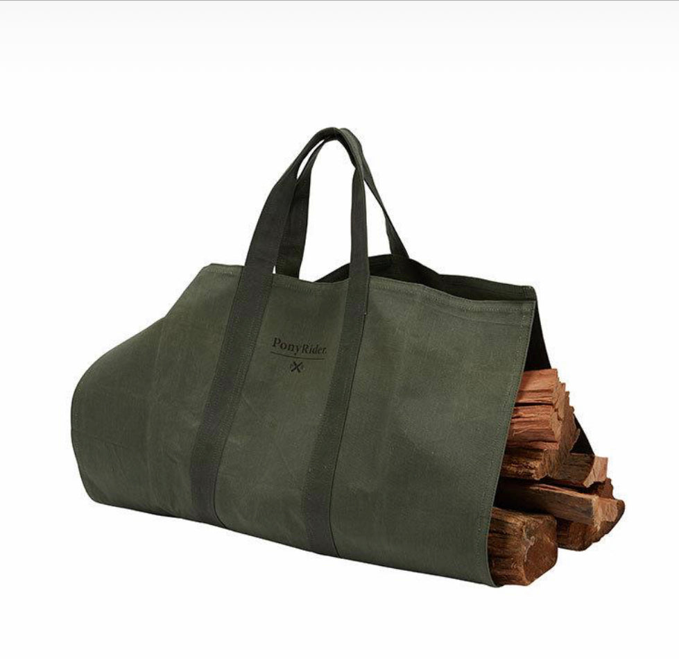 Pony Rider Camp Fire Timber Carry Bag - The Artisan Storeroom