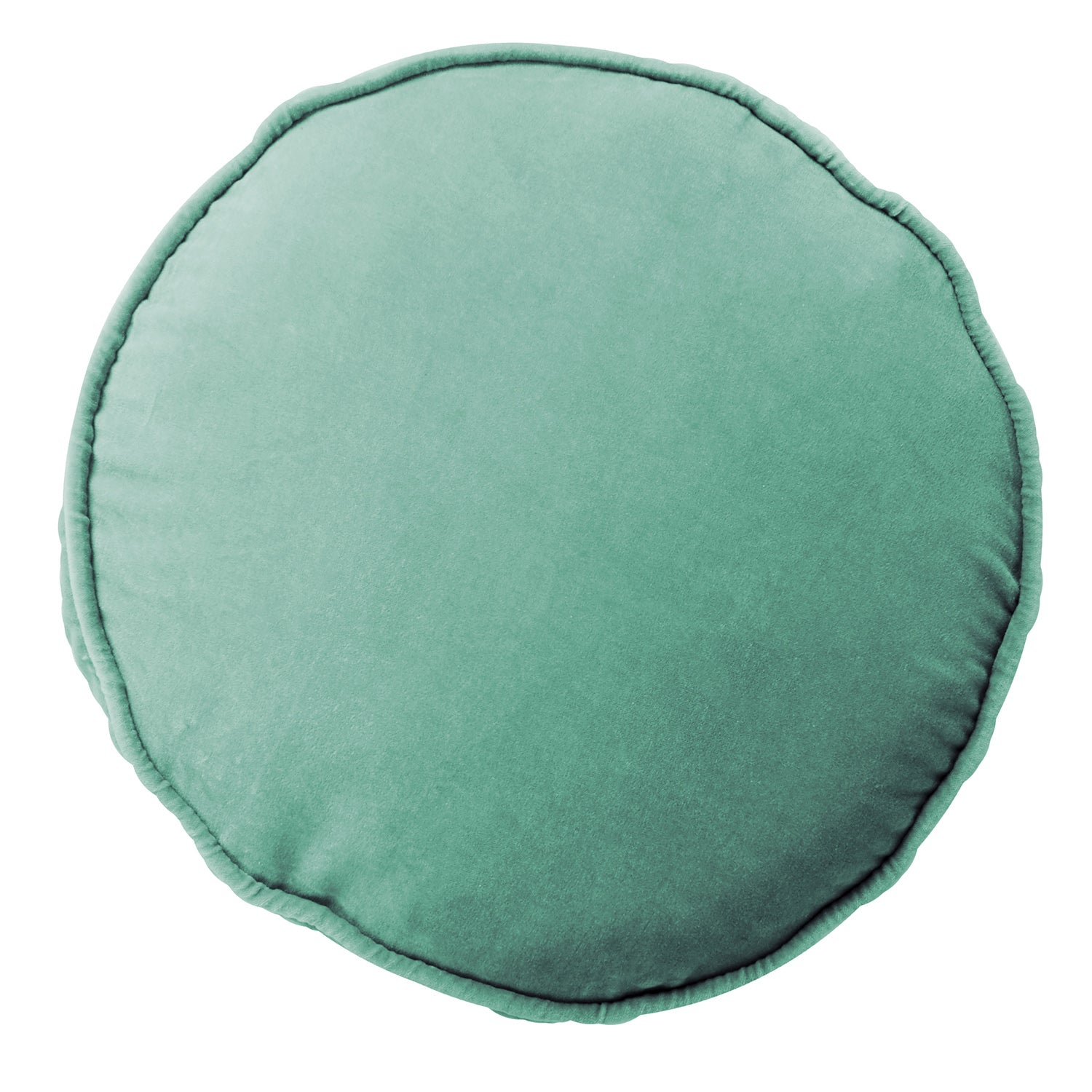 Kip & Co Velvet Pea Cushion Eucalyptus - The Artisan Storeroom