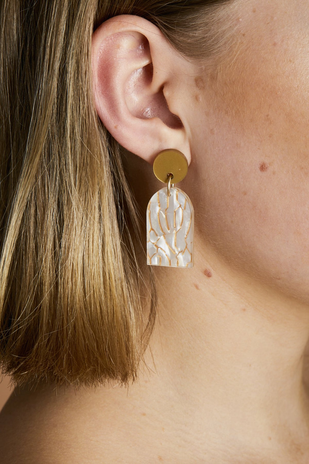 Martha Jean Arc Earrings