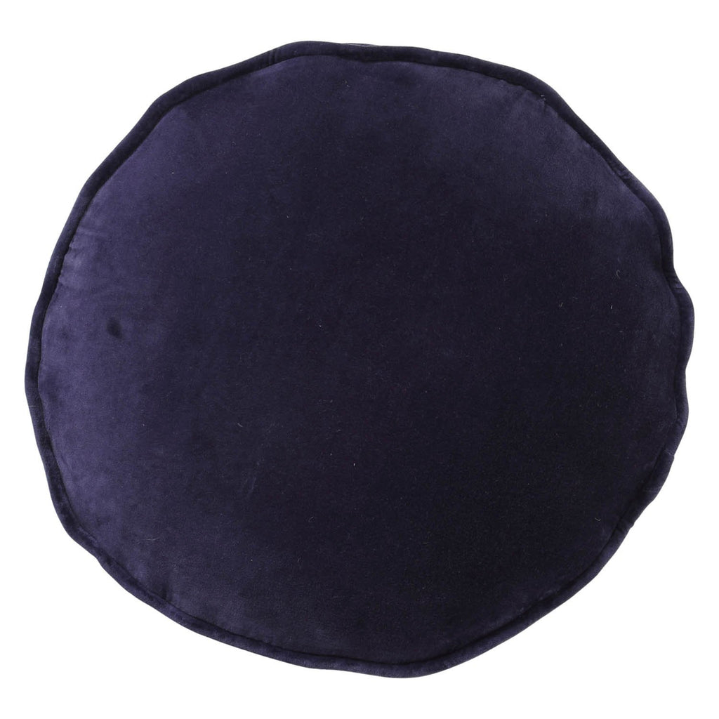 Kip & Co  Navy Velvet Pea Cushion - The Artisan Storeroom