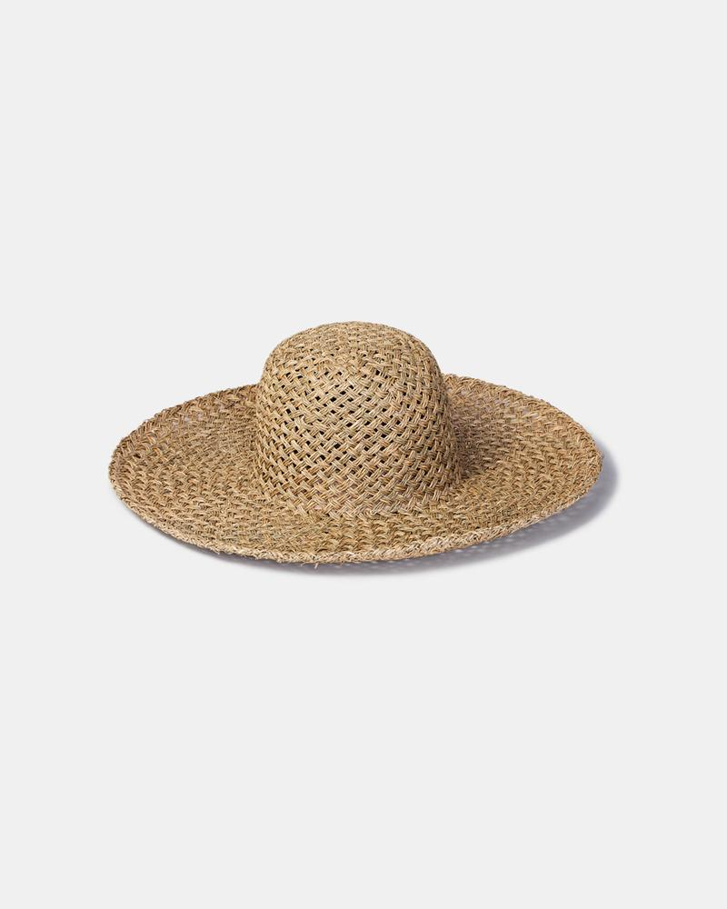 Will and Bear Summer Seagrass Hat - The Artisan Storeroom
