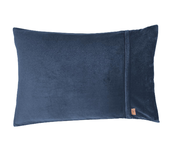 Kip & Co Petrol Blue Pillowcase 2P Set