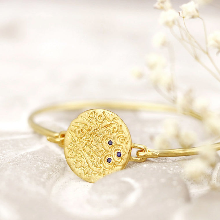 Temple of the Sun Coin Bracelet