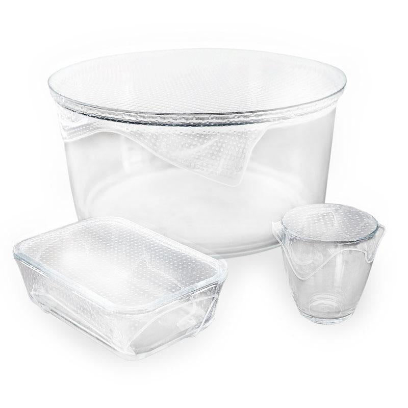 Seed & Sprout Reusable Clear Food Wraps - The Artisan Storeroom