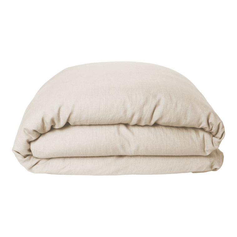 Kip & Co Coconut Linen Quilt Cover- Queen