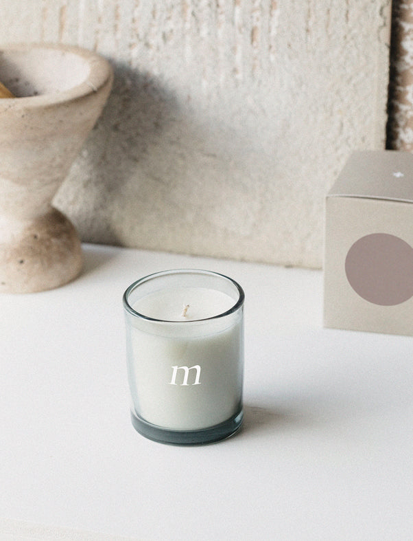 Addition Studio Natural Essential Oil Scented Candle- Mimosa Rocks - The Artisan Storeroom